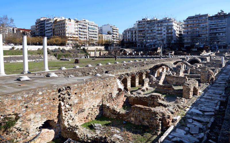 Στα πέριξ της Ρωμαϊκής Αγοράς